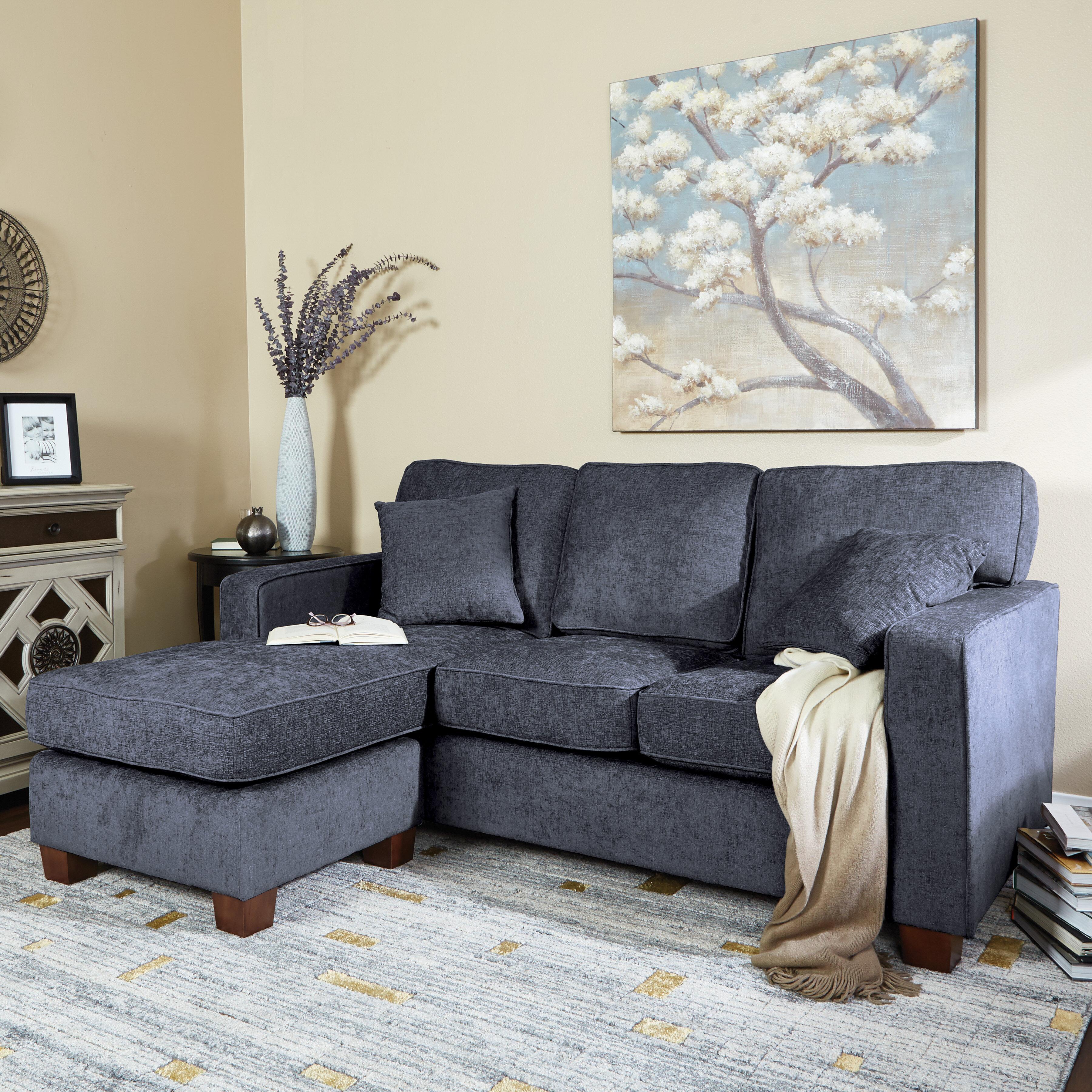 "Kehlani 8"" Reversible Sofa & Chaise"