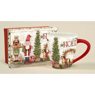 Christmas Nutcrackers Cafe Mug