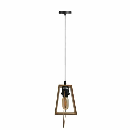 Hallowell 1-Light Single Geometric Pendant Borough Wharf