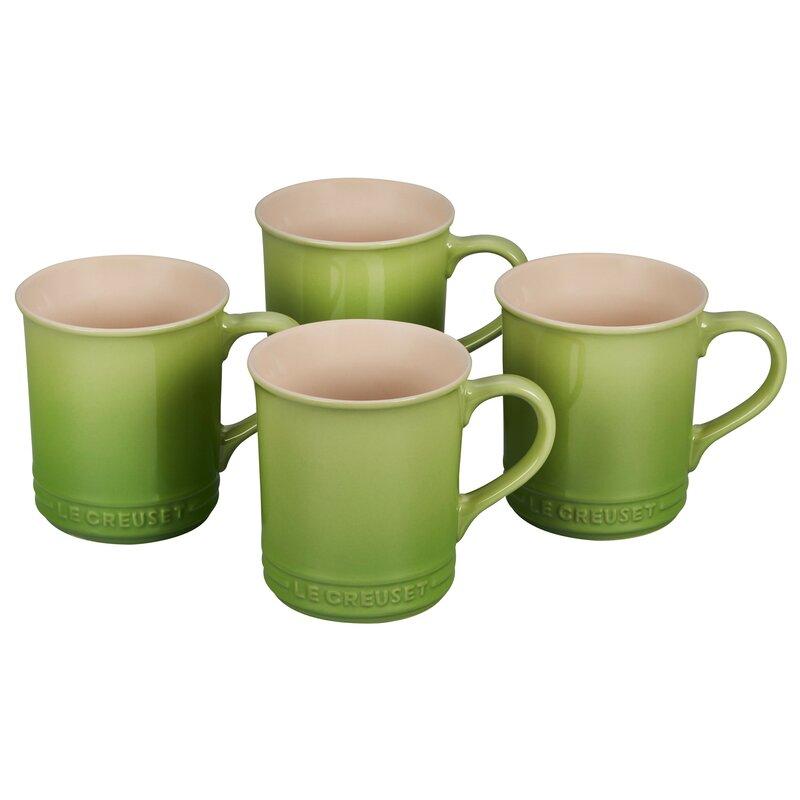 Le Creuset 4 Piece Coffee Mugs Coffee Mug Set Reviews Perigold