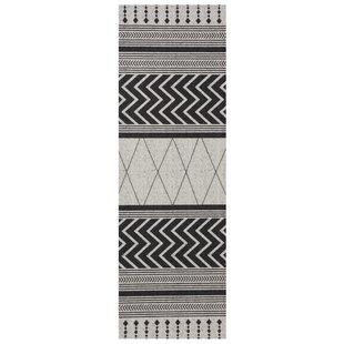 Novo Grey/Black Rug By Zala Living