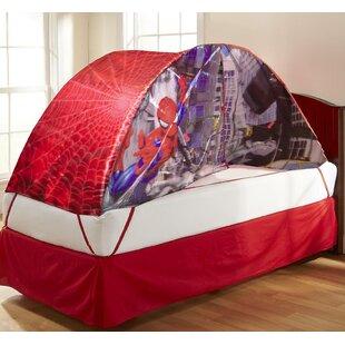 Spiderman Children Bed Tent & Spiderman Bed Tent | Wayfair