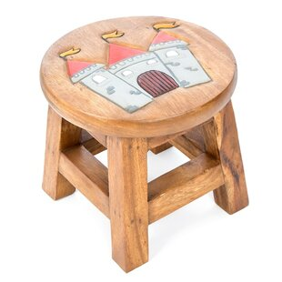 Castle Children's Stool By Just Kids