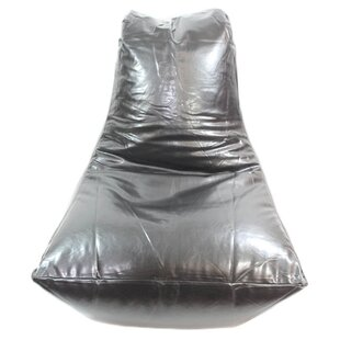 Algro Leather Slammer Bean Bag Chair By Williston Forge