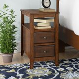 Claysburg Chairside End Table with Storage by Darby Home Co