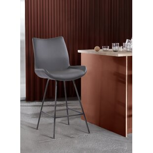 Gorecki 26 Bar Stool Orren Ellis