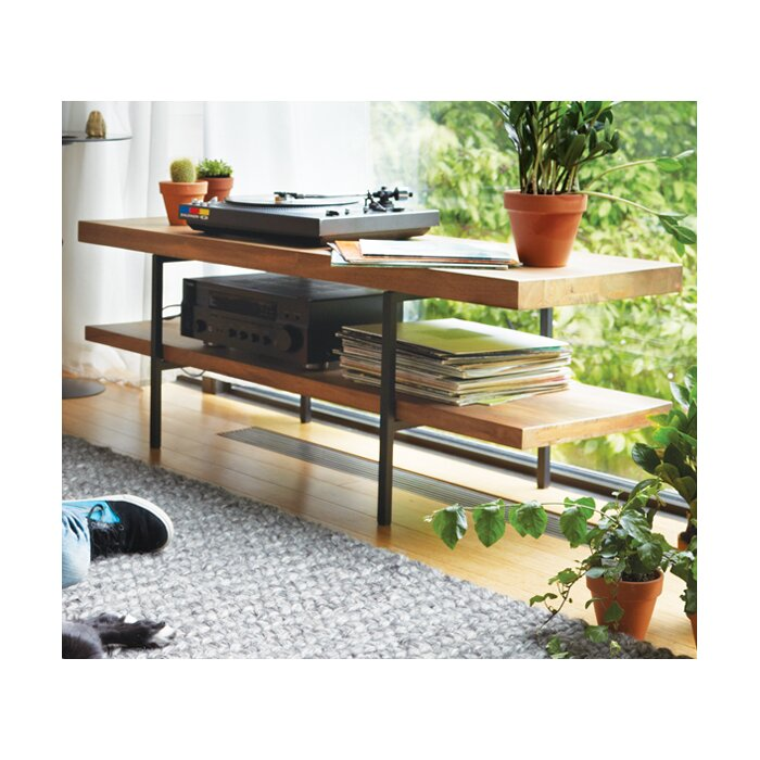 Reclaimed Teak Tv Stand For Tvs Up To 50