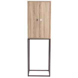 Latitude Run Amani Wood 2 Doors Accent Cabinet