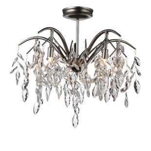 Savings Napan 5-Light Chandelier By CWI Lighting