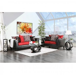 Orren Ellis Gillis Configurable Living Room Set