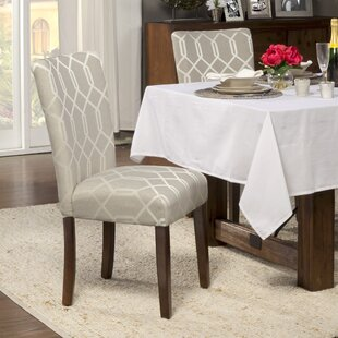 Feldman Upholstered Parsons Chair (Set of 2)