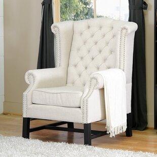 Baxton Studio Wingback Chair (Set of 2)