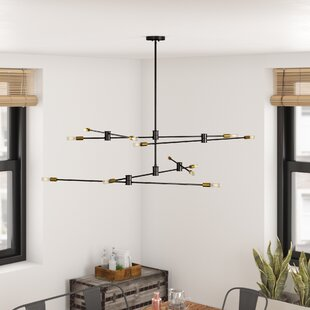 Whaleback 12-Light Sputnik Chandelier
