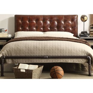 Charlize Queen Upholstered Panel Bed
