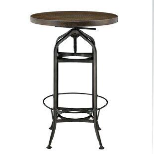 Williston Forge Petrie Adjustable Pub Table