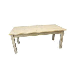 Dejardins Unfinished Dining Table by Loon Peak