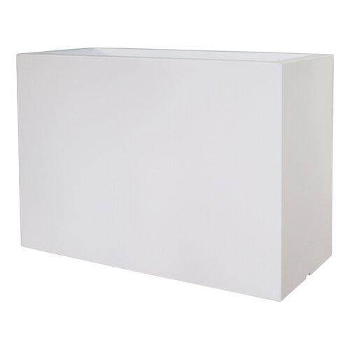 Alston Plastic Planter Box Sol 72 Outdoor Colour: White