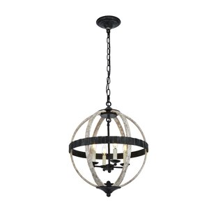 Closter 4-Light Chandelier..