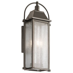 August Grove Devils Lake 3-Light Outdoor Wall Lantern