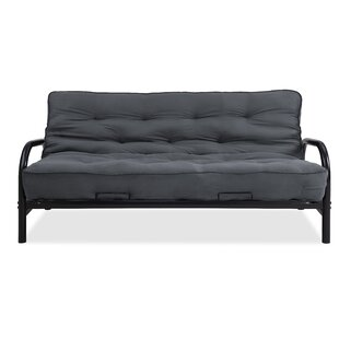 Mcbrayer Futon and Mattress by Red Barrel..