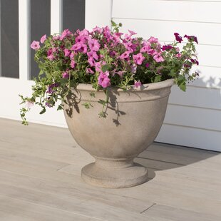 Alfresco Home Fiberstone Urn Planter