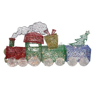 Outdoor Christmas Train Wayfair