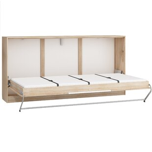 Ciel Murphy Bed with Mattress by Latitude Run