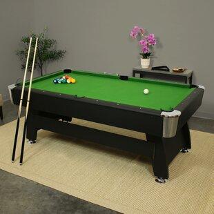 Black Regulation Size Pool Tables You