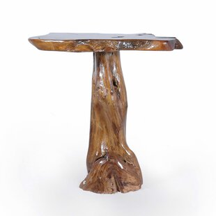 Teak Slab Pub Table Chic Teak