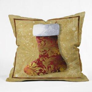 Madart Inc. Vintage Stocking Throw Pillow