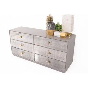 Juliette 6 Drawer Double Dresser
