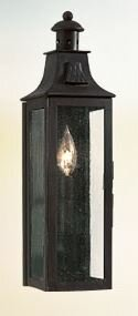Darby Home Co Theodore 1-Light Glass Shade Outdoor Flush Mount