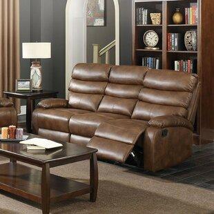 Winston Porter Poplin Modish Motion Reclining Sofa