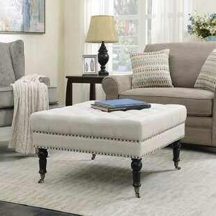 Jere Button Cocktail Ottoman by Darby Home Co
