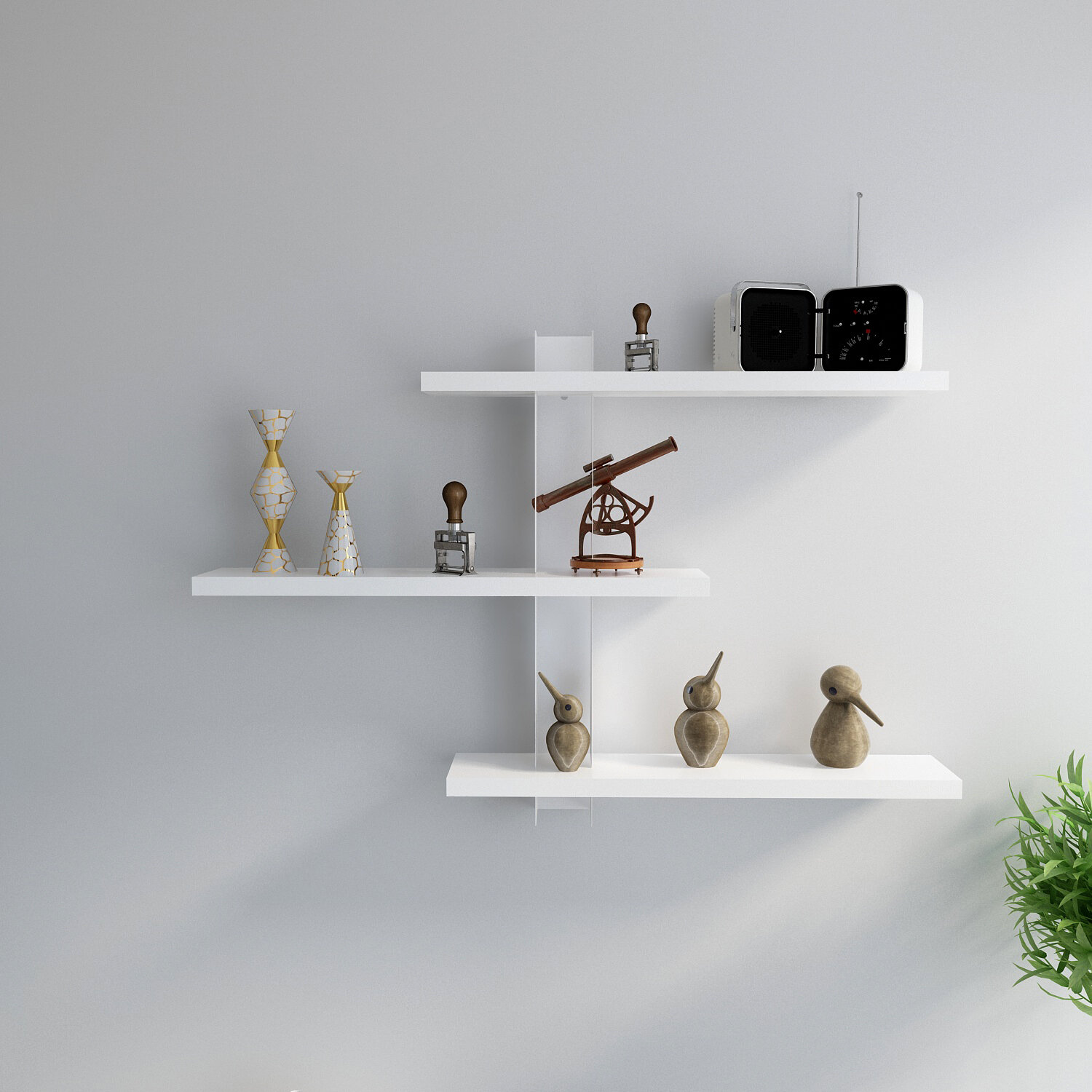 Latitude Run Marinel Wall Shelf Reviews Wayfair Ca