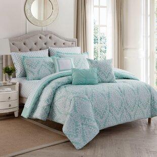 Andover Mills Labarre 10 Piece Reversible Comforter Set