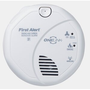 onelink enabled smoke and carbon monoxide alarm - First Alert Smoke Detector