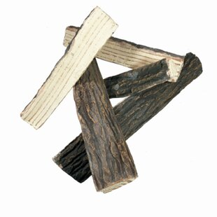 Ceramic Decorative Firewood For Fireplaces By Elementi