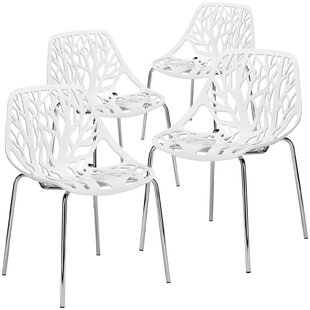 Radcliffe Stacking Patio Dining Chair (Set of 4)