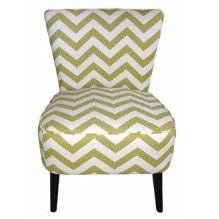 Adeco Trading Eruo Cute Taffy Slipper Chair