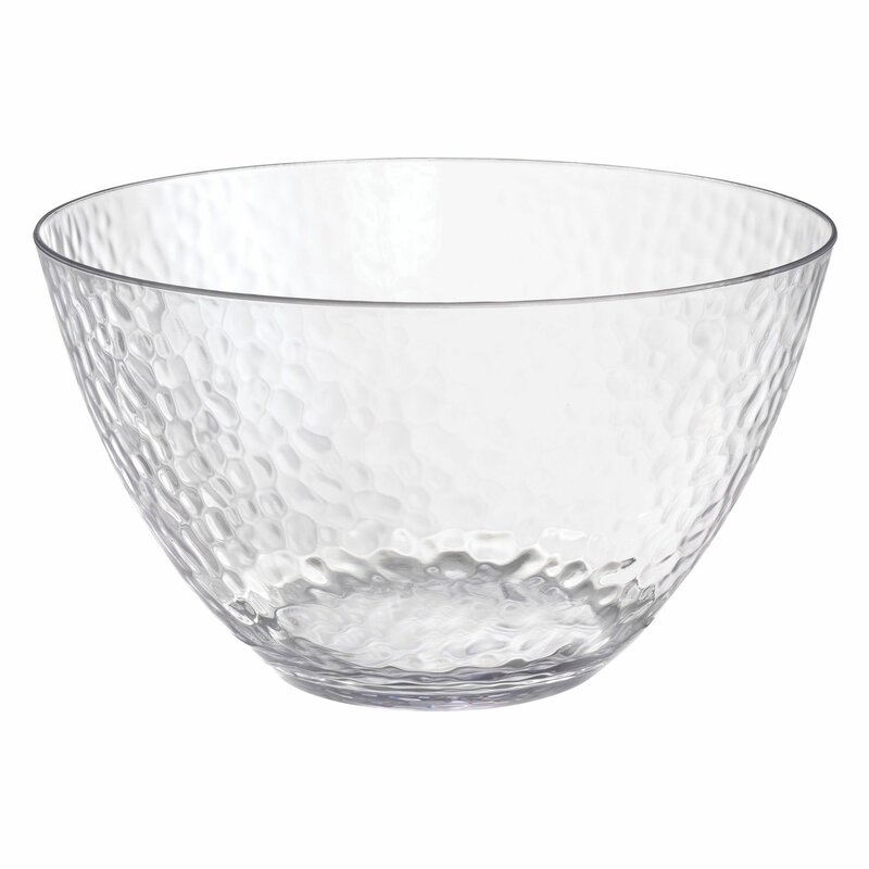 Amscan Large Hammered 144 Fl Oz Serving Bowl Wayfair
