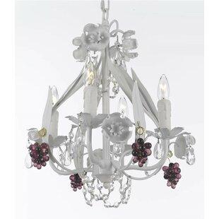 Harrison Lane Garden 4-Light Candle-Style..