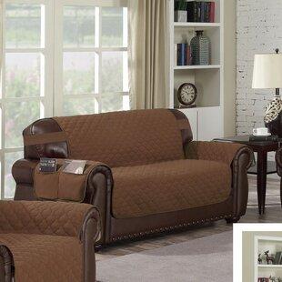 Box Cushion Sofa Slipcover by Red Barrel Studio Best Design