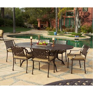 Art Frame Direct Sierre 7 Piece Dining Set