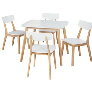 Epps Modern 5 Piece Dining Set Ebern Designs