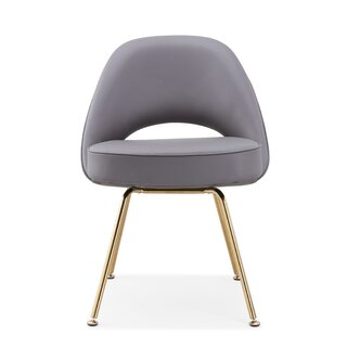 Alvis Upholstered Dining Chair by Everly Quinn SKU:EA985312 Buy