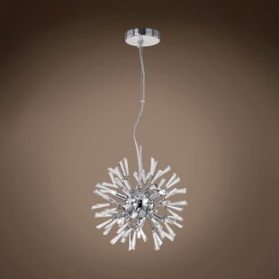 Everly Quinn Alexa 7-Light Sputnik Chandelier