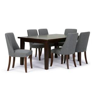 7 piece dining room set counter height walden piece dining set wayfair