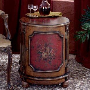Kadine Drum End Table by Astoria Grand
