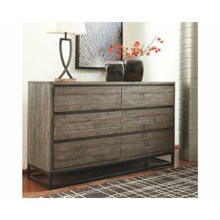 Bilyeu 6 Drawer Double Dresser by Williston Forge